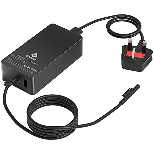 Surface Book 3 Pro Charger, E EGOWAY 127W 15V 8A AC Power Supply Adapter Compatible with Surface Pro X 7 6 5 4 3, Surface Book 3 2 1, Surface Laptop 3 2 1 and Surface Go
