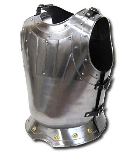 中世 カーボンスチール製 ウォーリアー ブレストプレート