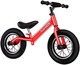 フット自転車のない子供のバランス車2インポ1タクシー赤ちゃんSkus-2歳3歳の子供6歳-12寸红色充气轮(高碳钢款)2-6岁,12