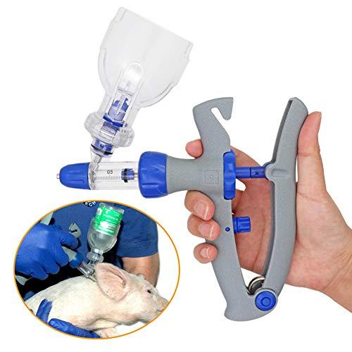 RONSHIN Huisdieren 1ml/2ml/5ml Spuit Continu Injector Verstelbare Automatische Vaccine Injectie voor Pluimvee