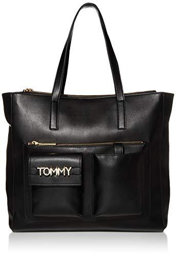 Tommy Hilfiger Helene Tote, BLACK