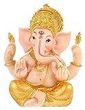WQQLQX Statue Hindu Cott skulptur Elefant Gott Statue Kunst Dekoration Dekoration Dekoration Zubehör Handwerk König der Erfolg Puppe Figuren Geschenke Skulpturen