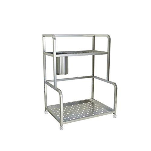 CHGDFQ Cucina Baker's Rack Stacking Shelf Condimento Spezie Storage Rack Stand Cabinet e Counter Shelf Organizer (Size : 35cm)