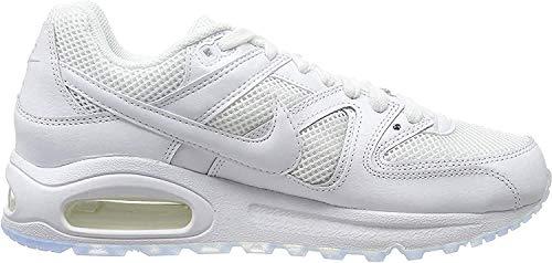 Nike Herren AIR MAX Command Hallenschuhe, Weiß (White_112), 42 EU