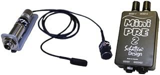 Schatten BJ-02M Banjo Pickup w/Microphone and Mini-Pre 2 Dual Channel Preamp