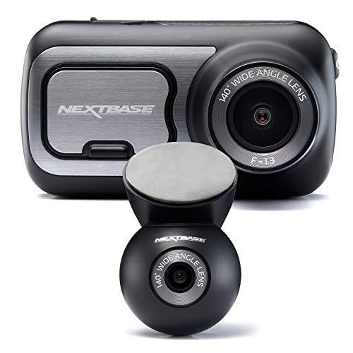 Nextbase 422GW Full 1080p HD In Car Dash Cam Camera- Bluetooth- WIFI- GPS- Night Vision, SOS Emergency- With Rear Dash Cam, Full Rear View + Full Front View… Logo