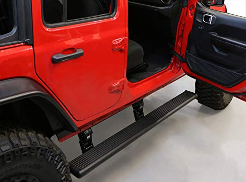 AMP Research 75132-01A PowerStep Electric Running Boards for 2018-2021 Jeep Wrangler JL, 4-Door