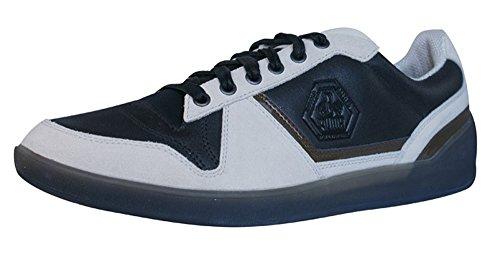 PUMA Rudolf Dassler Strassenmeister Low Mens Leder Schuhe Sneaker/Schuh - schwarz - Size EU 39