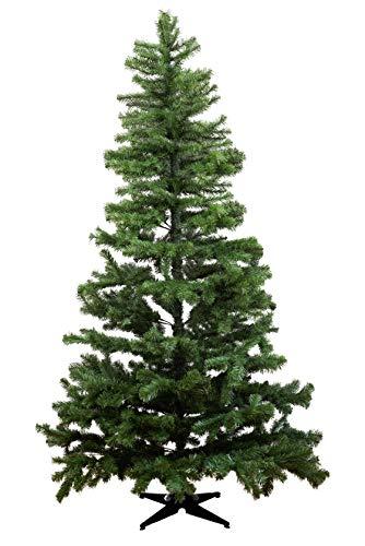 HEITMANN DECO - Künstlicher Weihnachtsbaum zum Zusammenstecken mit Kunststofffuß - Tannenbaum Christbaum - 210 cm, Grün