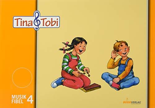 Musikalische Früherziehung - Musikschulprogramm Tina & Tobi: 4. Halbjahr: Fibel 4, Elternblätter 4, Anwesenheitsmarken 4