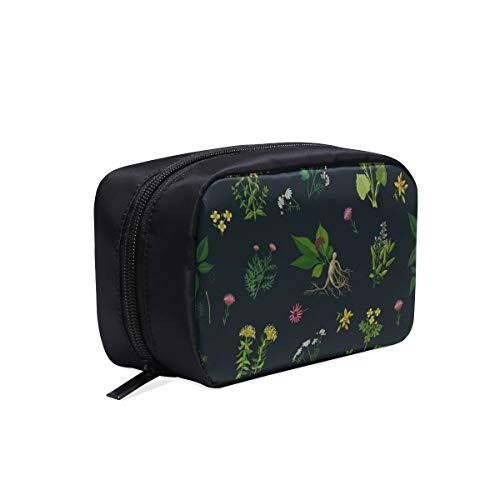 Tasche Für Frauen Mode Ginseng Heilkraut Muster Tragbare Reisetasche Kulturbeutel Frauen Damenmode...