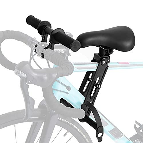 DFEO Asiento De Bicicleta Infantil para Niños, Silla De Montar para Niños Bicicleta Seguridad Asiento De Bicicleta De Montaje Frontal, con Mango, para Viajes Al Aire Libre, 1 a 6Años
