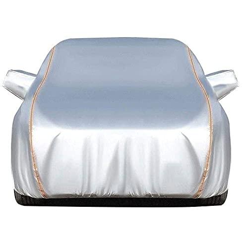 SLZFLSSHPK Cubierta de Coche Impermeable Cubierta Completa para automóvil - pequeña - Resistente al Agua Compatible con MG Cubierta Completa para automóvil Transpirable para Todo Tipo de Clima Al a