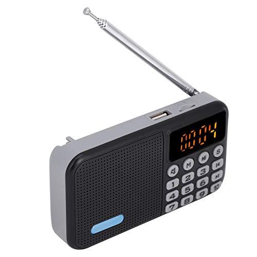 Estéreo TF 32G con batería Radio FM Radio Digital de Bolsillo Dab Antena de Radio FM Digital portátil Radio FM portátil para Caminar, Tomar el autobús, Caminar, etc.