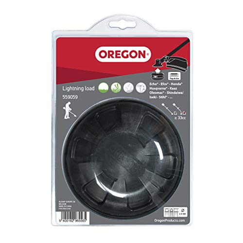 Oregon 559059 Tête de coupe Lightning Load Tap and Go, 130 mm