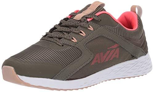 Avia Women's Avi-Ryder Sneaker, Grape Leaf/Diva Pink/Whisper White, 8 Medium US