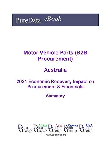 Motor Vehicle Parts (B2B Procurement) Australia Summary: 2021 Economic Recovery Impact on Revenues & Financials (English Edition)
