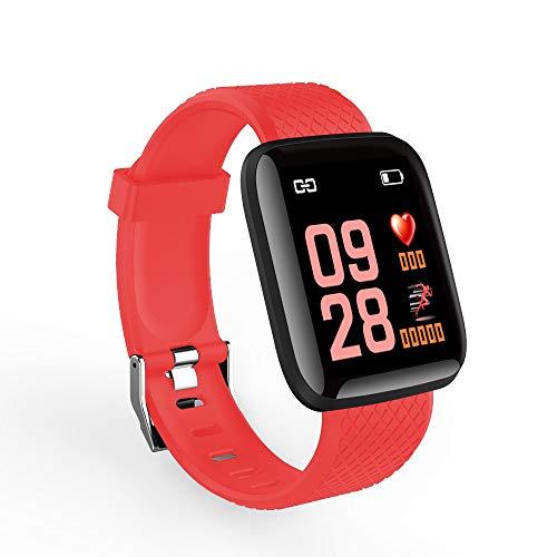 Ajcoflt Smartwatch Intelligente Digital Sport Smart Sport BT Uhr Pulsmesser Blutdruck Fitness Tracker Schrittzähler Für Android & iOS Phone APP Fernbedienung