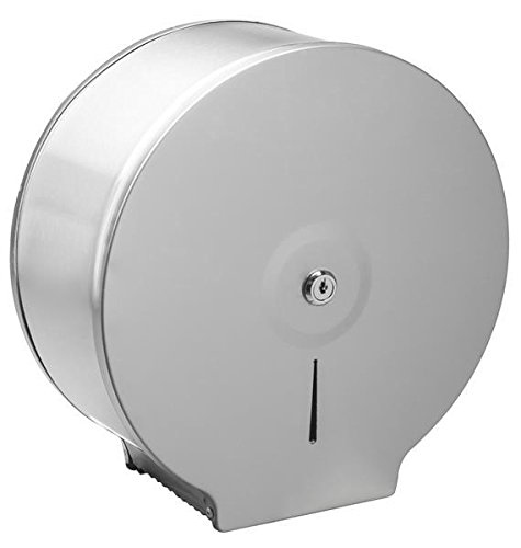 Aviva Clean Jumbo Jones Edelstahl Toilettenpapierspender, Toilettenpapierhalter
