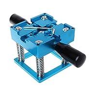 Yadianna Blue BGA reballing kit 90x90mm BGA reballing Station with Hand Shank Gift BGA Universal Stencil