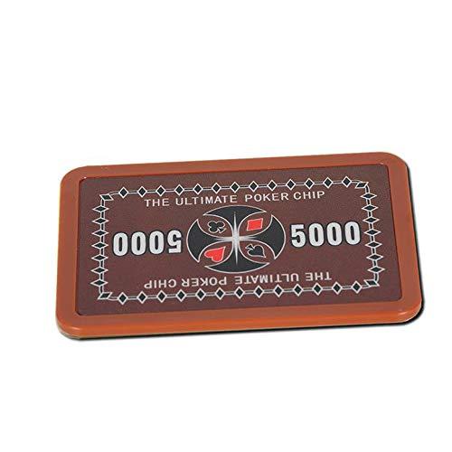 Ultimate Poker Plaque 5000 Er Wert Poker Chip Roulette Casino Qualität