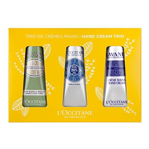 L'Occitane Hand Cream Classics Trio Gift Set