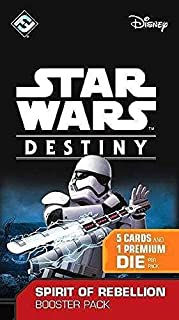 Fantasy Flight Games SWD04 Star Wars Destiny: Spirit of Rebellion B Board Game