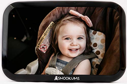 Baby Mirror for Car - Safely Monitor Infant Child in Rear Facing...