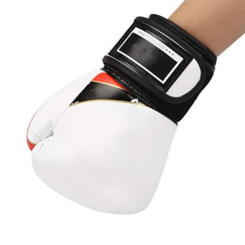 Fybida Cuero de PU Boxeo Lucha Sparring Sacos de Arena Niños Boxeo Aptitud al Aire Libre Reducir el estrés por presión(White)