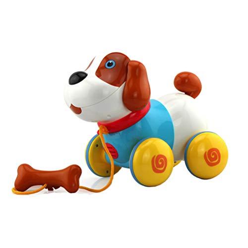 Schimer Nachzieh-Hund mit Bewegung, Lustige Tierparade, Laufender Pluto