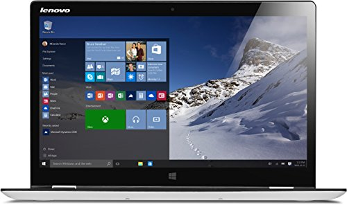 Lenovo YOGA 700-14ISK 35,6 cm (14 Zoll Full HD IPS) Slim Convertible Laptop (Intel Core i5-6200U, 4GB RAM, Hybrid 500GB HDD + 8GB SSHD, Multi-Touch, Windows 10 Home, Touchscreen) weiß