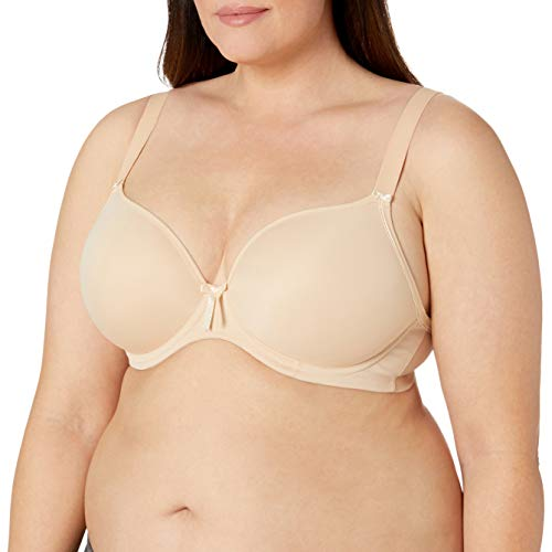 Elomi Women's Plus Size Bijou Underwire Banded Molded Bra, Sand,40FF,UK