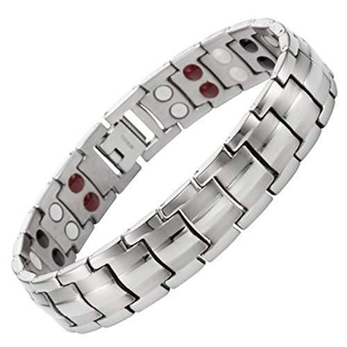 Mooie magnetische armband voor mannen Titanium 4-in-1 multi-element Extra sterke magnetische armband mannen artritis pijn,5