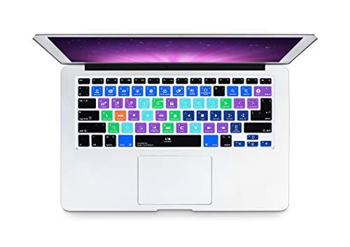 Slim A Logic Pro X Avid Pro Tools Sneltoets Toetsenbord Cover Huid Voor Macbook Pro Air 13 15 17 Voor 2016 Eén maat Nieuwe Final Cut Pro X