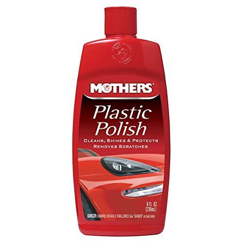 Mothers 06208 Plastic Polish - 8 oz