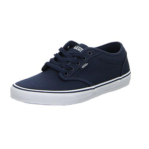 Vans KC44K1 Herren Atwood Sneaker Canvasmaterial Textilfutter Textilinnesohle, Groesse 42, dunkelblau