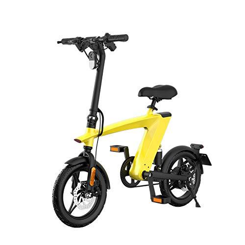 250W 14 'rango 55KM adulto desmontable bicicleta eléctrica plegable