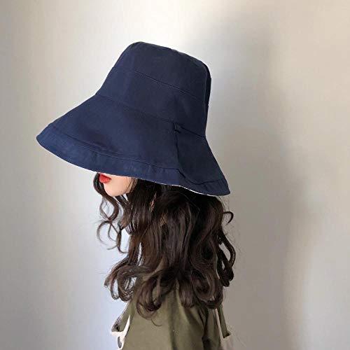 BHLTG Parasol para Verano Sombrero de ala Ancha y Protector Solar Sombrero de Pescador con Ancho de llanta, Plegable Outbound Protector Solar Sombrero con un centenar de Conjuntos de Pura Marea Solar