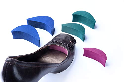 Size Matters 3 Sizes Pack Shoe fillers Shoes Too Big Inserts for Both Men and Women