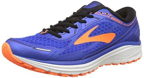 Brooks Aduro 5, Zapatillas de Running para Hombre, Azul (Blue/Orange/Black 1d494), 42 EU