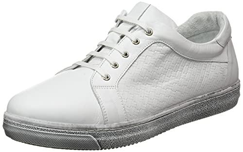 Andrea Conti 60004, Zapatillas Mujer, Weiß, 39 EU
