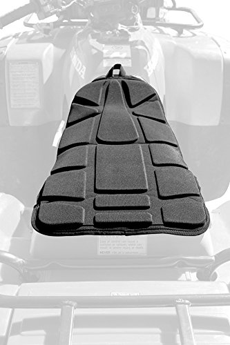 Outlaw Utility - Universal Waterproof Atv Seat Pad - Padded Seat Protector - Universal Seat Cover For Utility Quads - Atv'S - 1 Year Warranty- Atv Accessories/Automotive Accessories - Black -  OU2006