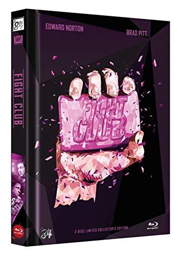 Fight Club Mediabook – Limitierte nummerierte 111er Edition – Cover F Blu-Ray + DVD Cover B
