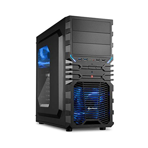 Sedatech PC Gamer Casual AMD ryzen 3 2200 g 4 x 3.5 gHz (Max 3.7 GHz), Radeon Vega 8, 8 GB RAM DDR4, 1 TB HDD, USB 3.0, Full HD 1080p, Alim 80 +. Unidad central sin OS blanco + Windows 10 1000Gb