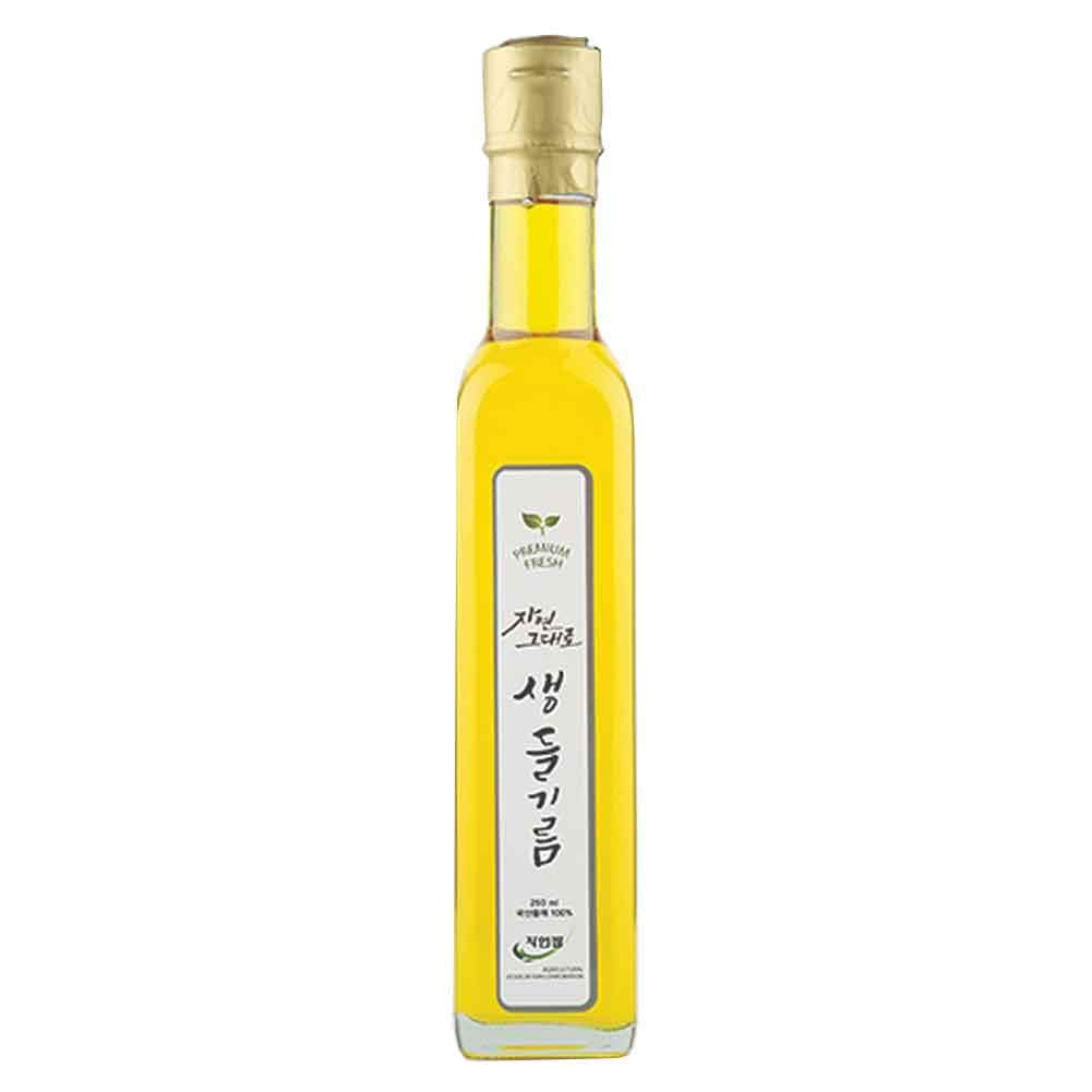Korean Cold Pressed 100% Pure Perilla 250ml Trad Oil Max 88% OFF fl.oz Super beauty product restock quality top! 8.4
