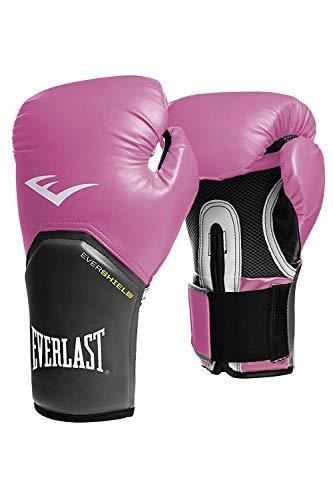 Everlast–Guantes de boxeo elite pro Style Negro Rojo Azul Blanco Rosa 810121416oz, rosa
