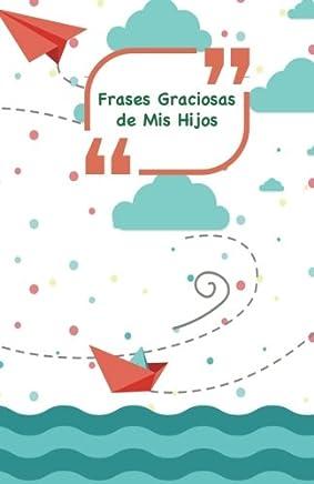 Frases Graciosas de mis hijos: Portada con barcos, aviones y mar | Apunta las