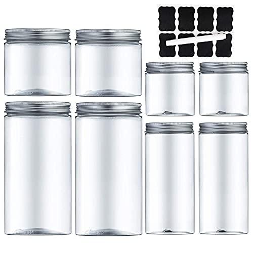 Voratsdosen küche Aufbewahrungsbox küche mit luftdichtem Deckel Frischhaltedosen aus Kunststoff BPA-frei