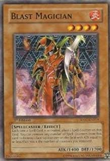 Yu-Gi-Oh! - Blast Magician (SDSC-EN014) - Structure Deck Spellcasters Command - 1st Edition - Common