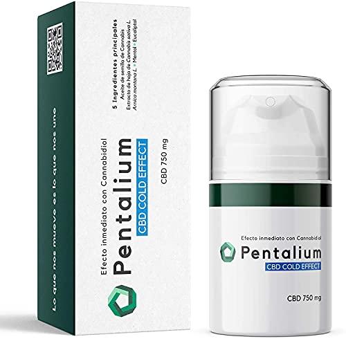 Pentalium CBD Cold Effect - Cannabidiol Crema Dolores Musculares y Articulaciones -...